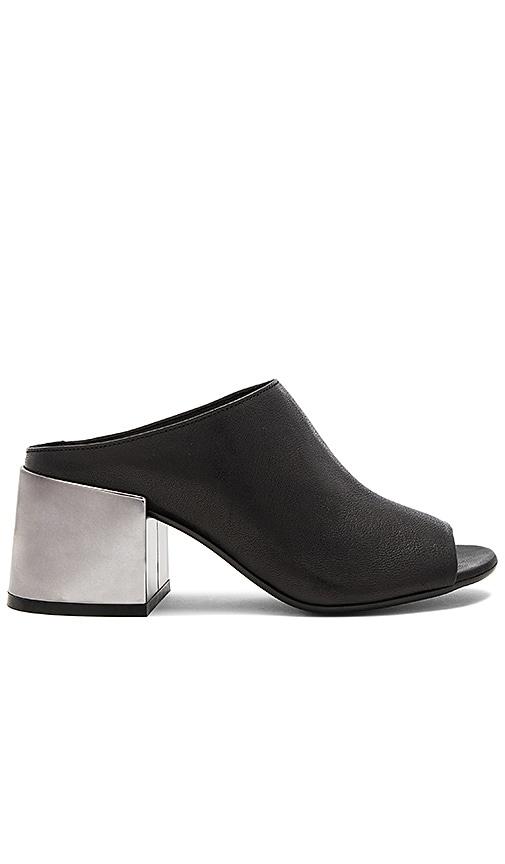 MM6 Maison Margiela Slip On Heeled Sandal in Black