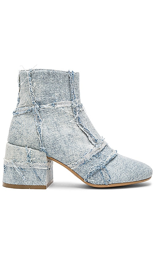 MM6 Maison Margiela Heeled Bootie in Blue
