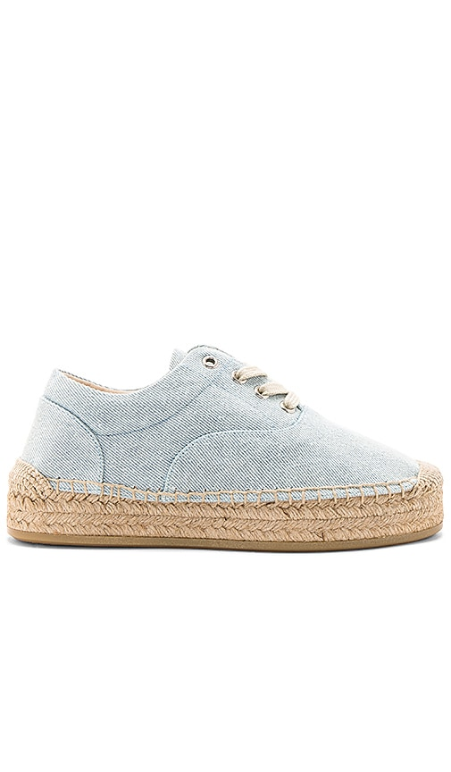 MM6 Maison Margiela Espadrille in Baby Blue