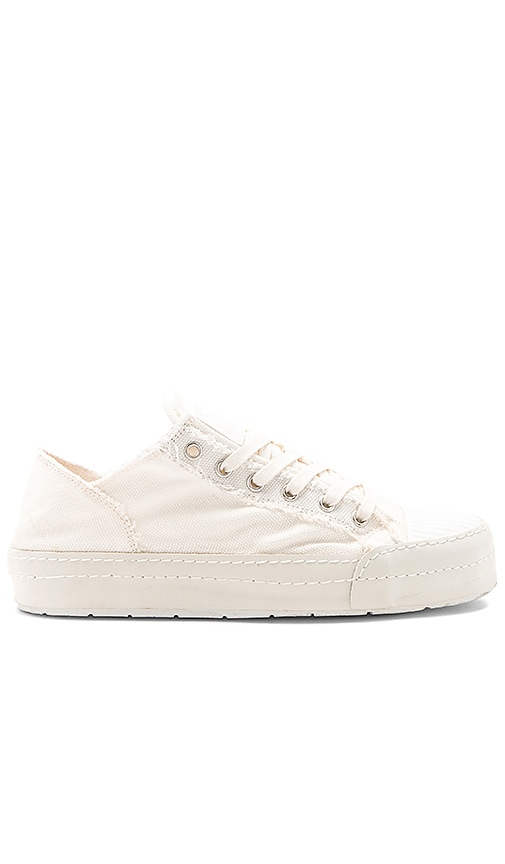 MM6 Maison Margiela Canvas Sneaker in White