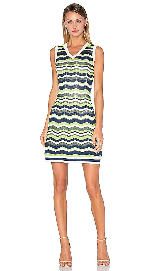 Relief Zig Zag Dress