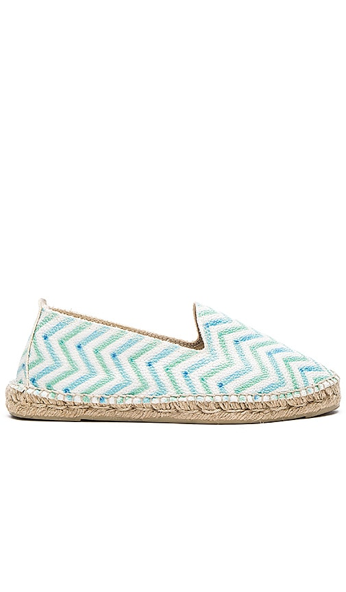 MANEBI Ibiza Espadrille in Green