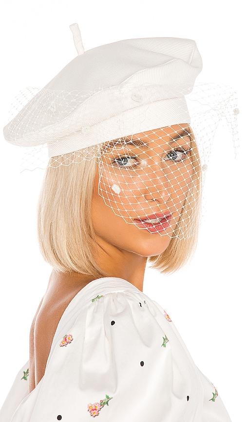 Veil Beret Hat