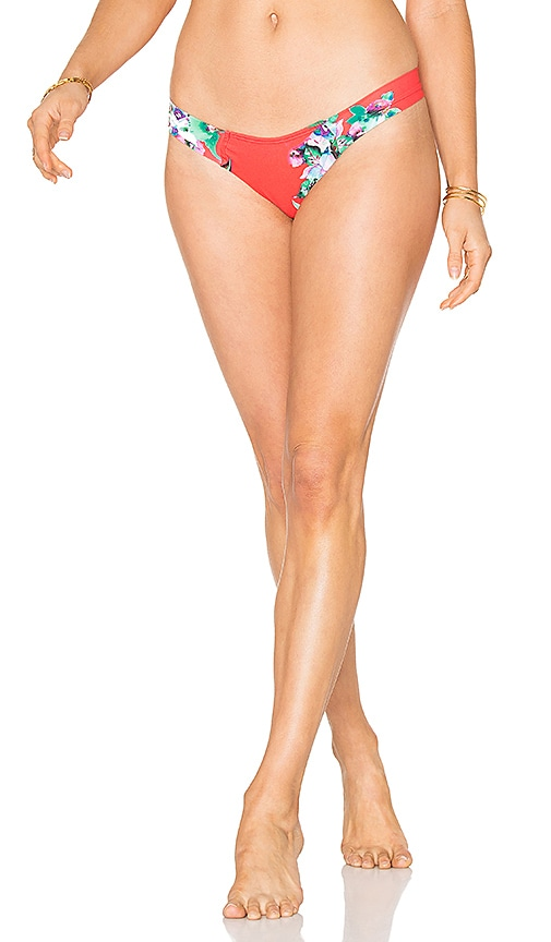 Montce Swim Uno Bottom in Red