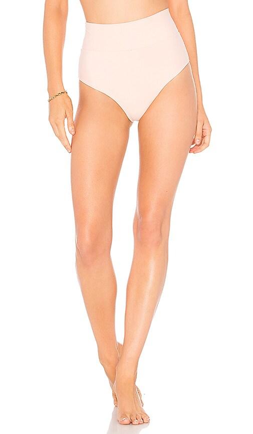 Montce Swim High Rise Bikini Bottom in Pink