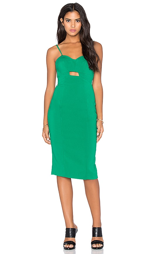 Minty Meets Munt Enough Said Dress in Emerald Green