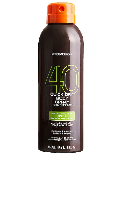 Quick Dry Body Spray with SolSci-X