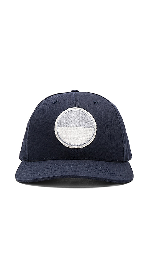 Mollusk Moon Patch Hat in Navy