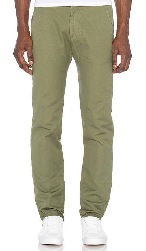 Mollusk Chinos in Green