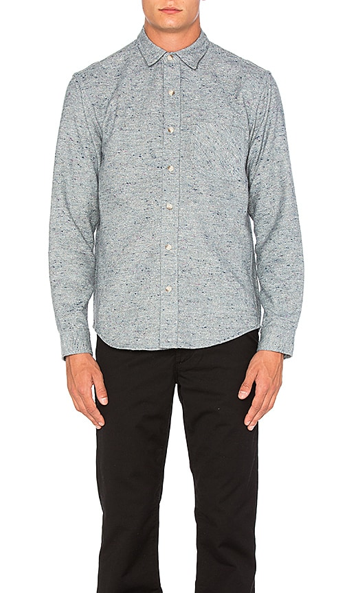 Mollusk One Pocket Shirt in Blue