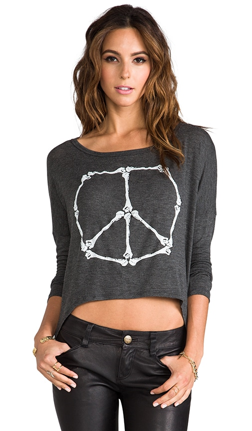 Peace Bones Long Sleeve Tee