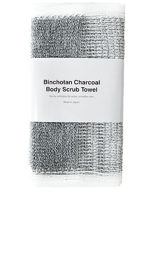 EXFOLIANT CORPS BINCHOTAN CHARCAOL