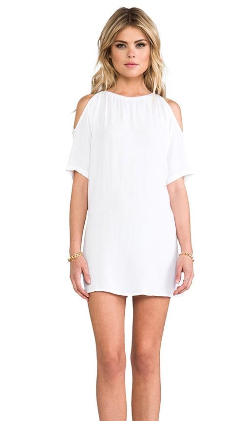 Motel Savannah Dress in White