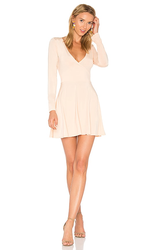 Motel Ingrid Dress in Peach