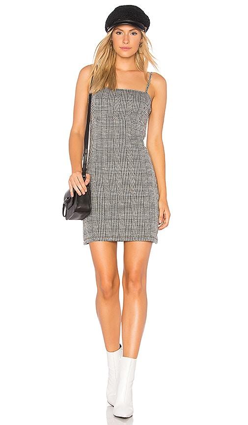 Motel Cecile Mini Dress in Gray