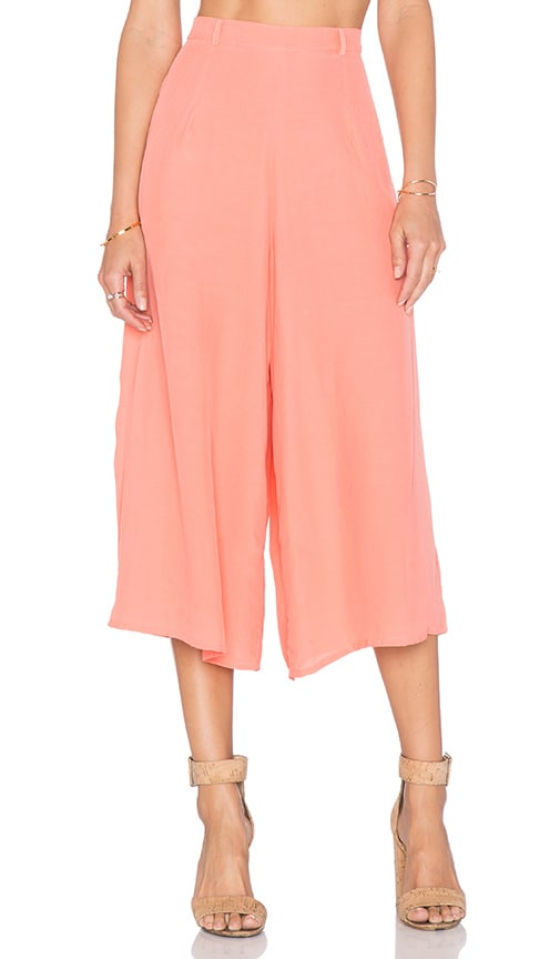 Motel Giani Culotte Pant in Strawberry Ice