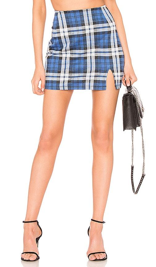 Motel Dina Skirt in Blue