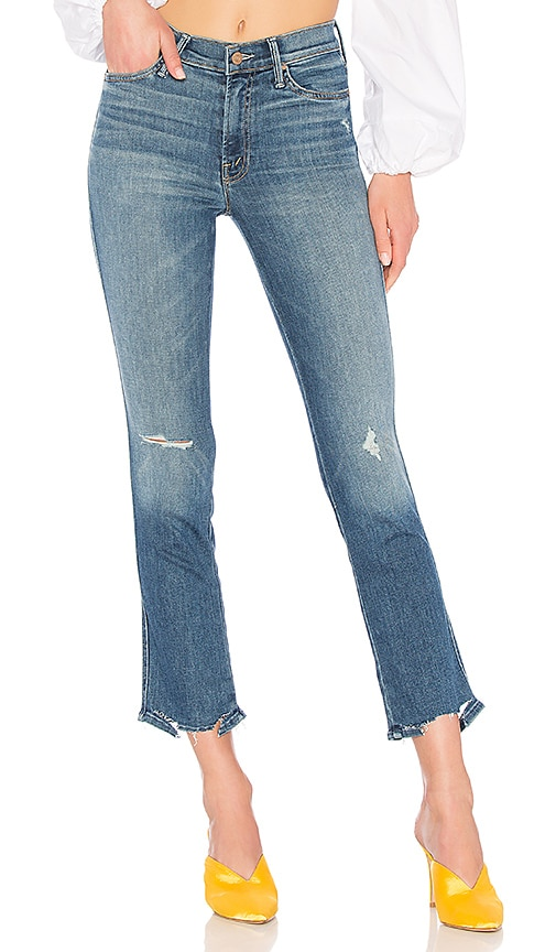 MOTHER The Rascal Ankle Jean in Wild!