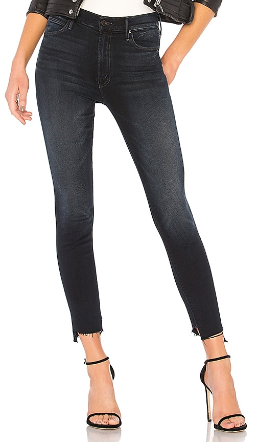 df91922a6f2c7 MOTHER The Stunner Zip Two Step Fray Jean in Last Call