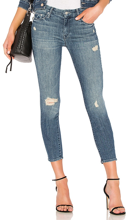MOTHER The Looker Crop Jean in Gypsy