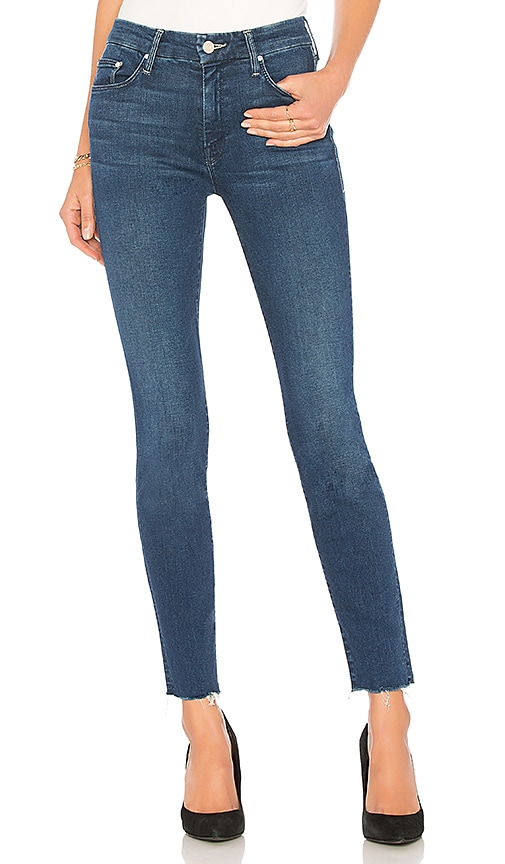 MOTHER The Looker Ankle Fray Jean in Fast Times