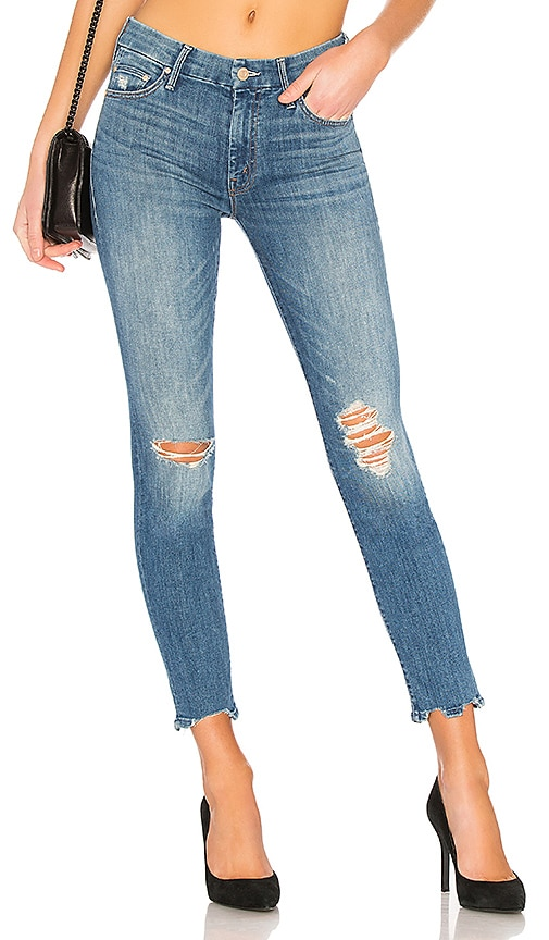 The Looker Jean in Blue. - size 25 (also in 23,24,26) Mother
