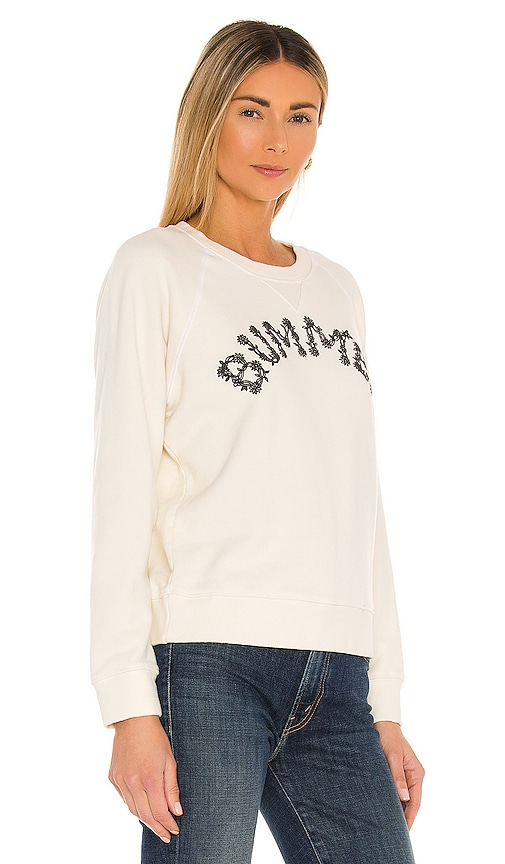 MOTHER Sweatshirts THE SQUARE HOODIE