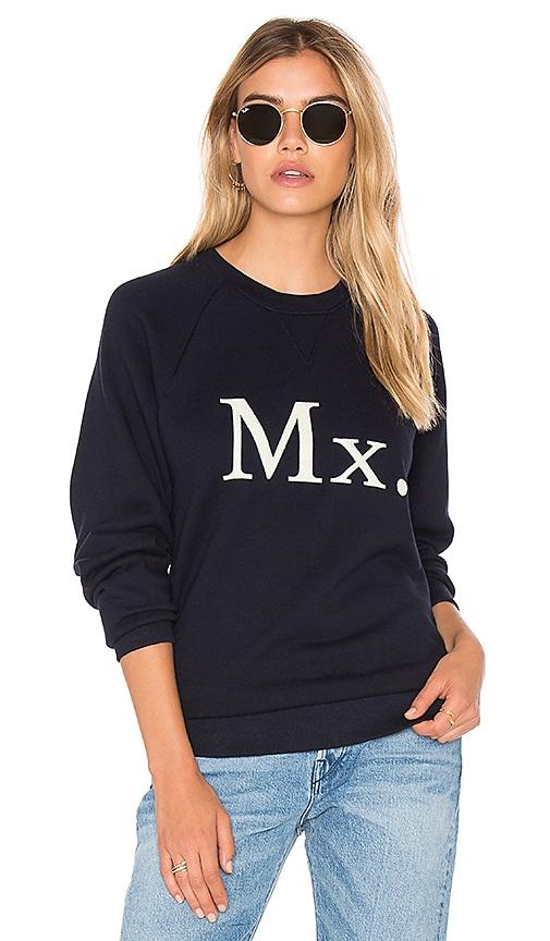 MOTHER The Champ Sweatshirt in Navy
