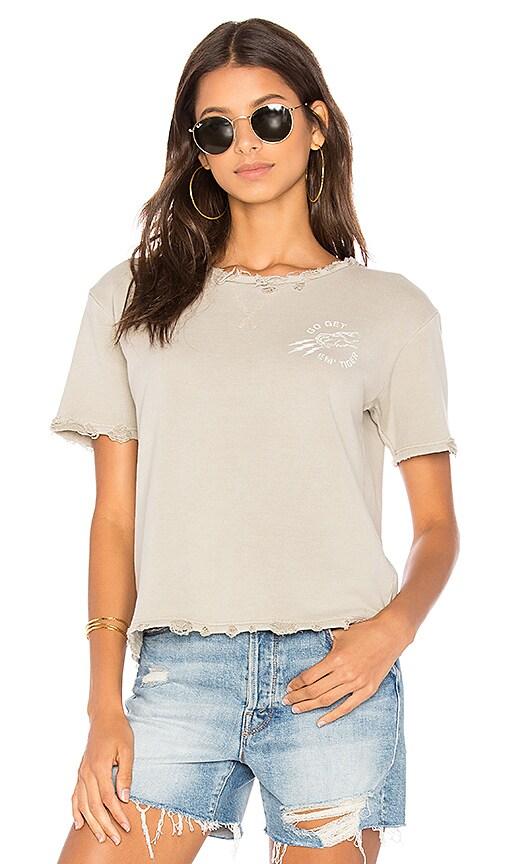 MOTHER Goodie Goodie Sweatshirt in Gray