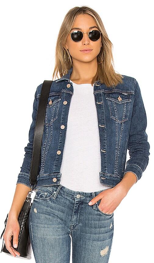 MOTHER The Pocket Bruiser Jacket in Blue