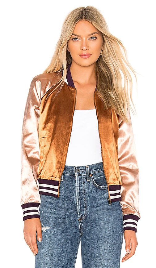 The Letterman Zip Jacket