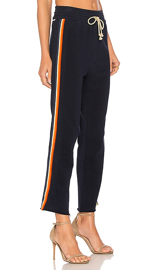 MOTHER Slim Gym Pant in Navy