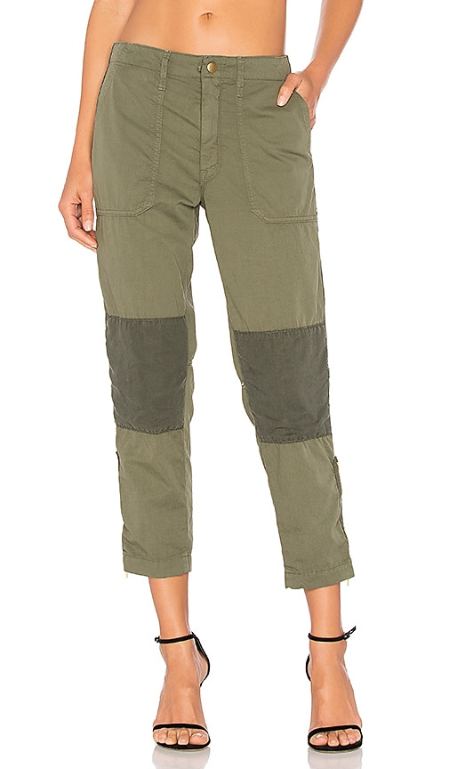 MOTHER The Army Racketeer Pant in Army