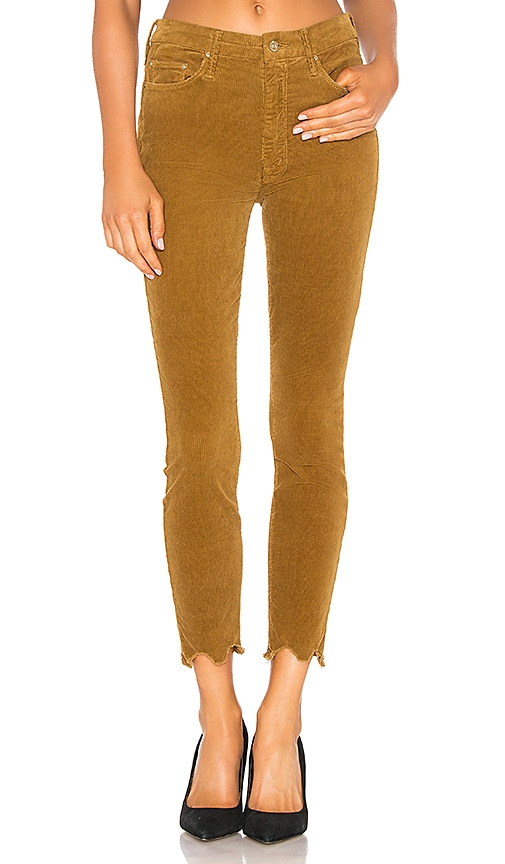 High Waisted Looker Ankle Chew Corduroy