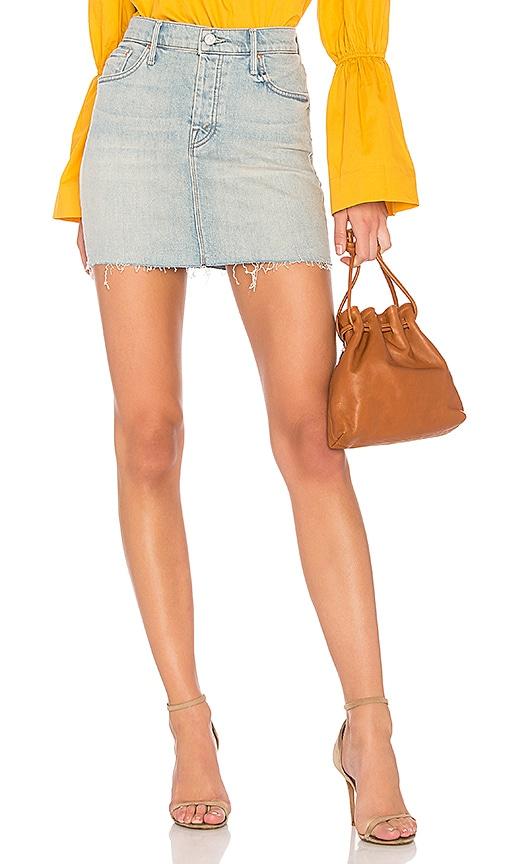 The Angel Peg Mini Fray Skirt