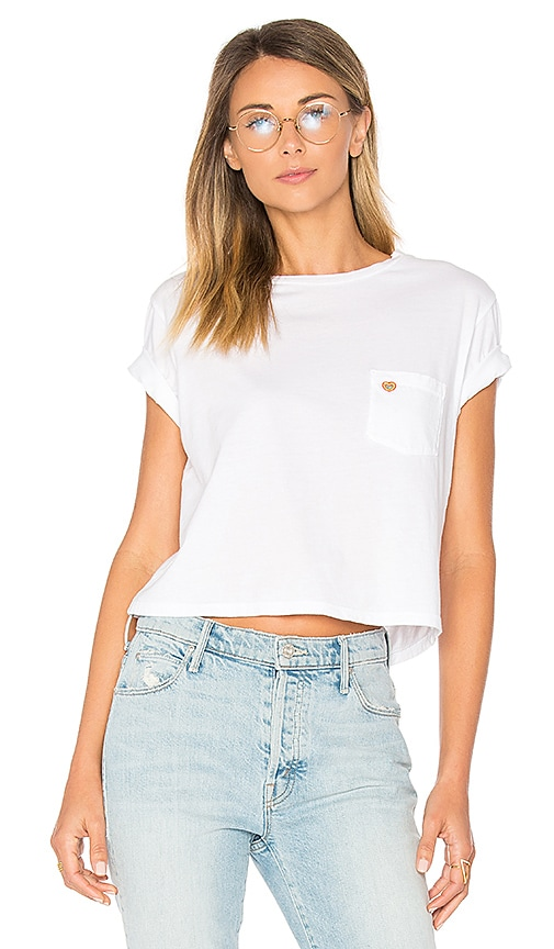 T Time Crop Pocket Shirt