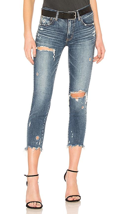 Moussy Vintage Ridgewood Skinny Jean in Blue