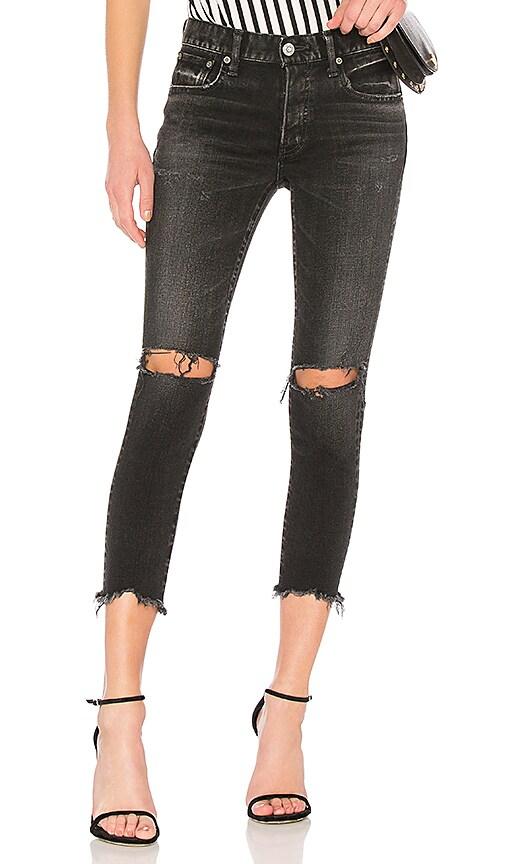Moussy Vintage Fremont Skinny Jean in Black