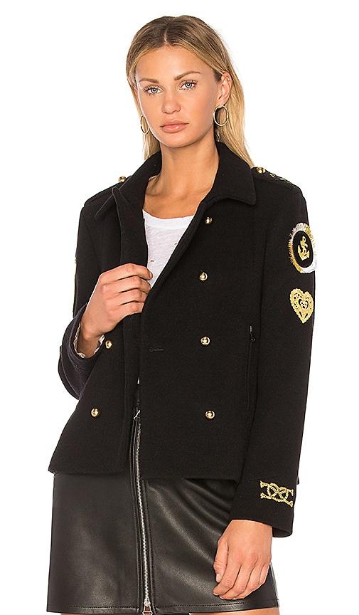 MPD BOX Pilot Jacket in Black