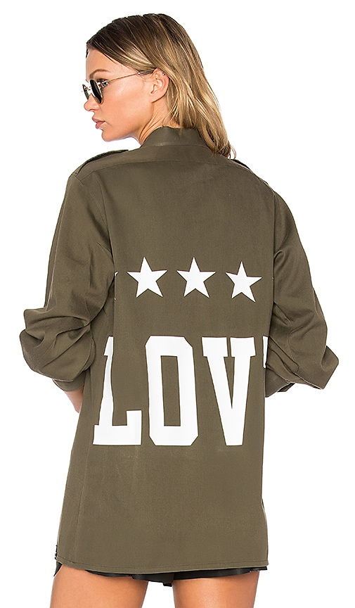 MPD BOX Love Shirt in Olive