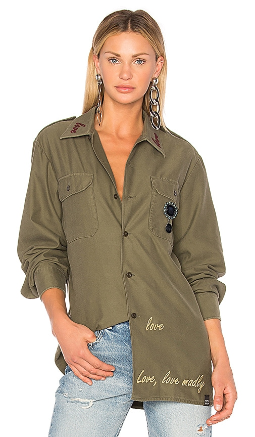 MPD BOX Poesia Shirt in Green