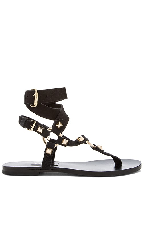 Mara & Mine Georgia Sandal in Black