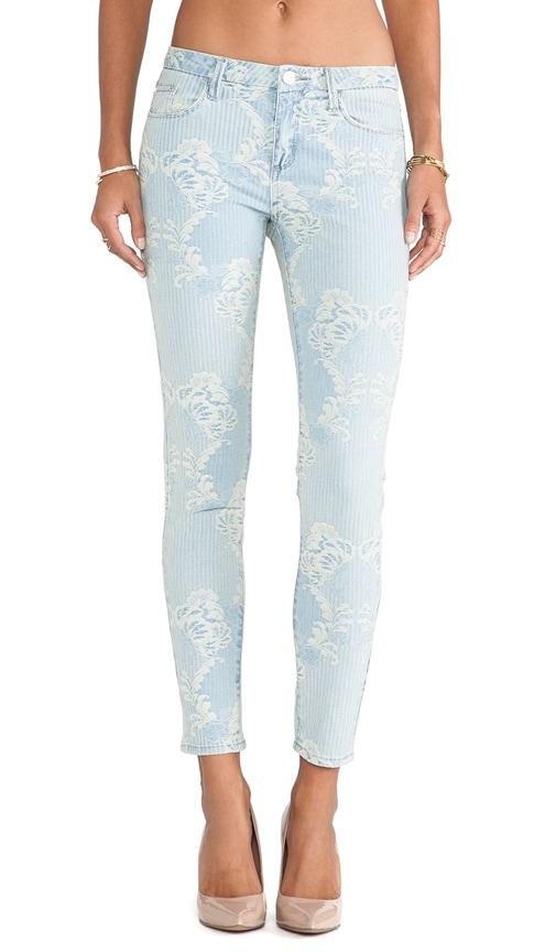 Brocade Skinny Jean