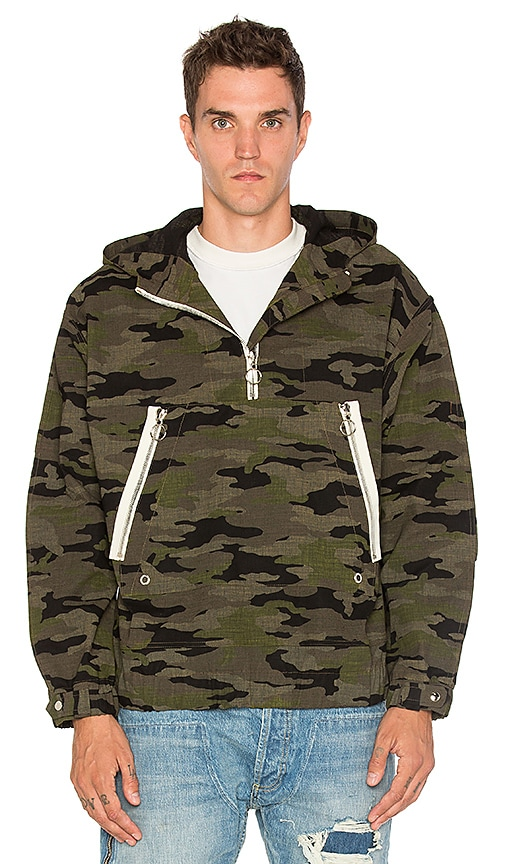 3053a3d694c08 Mr. Completely Half Zip Anorak in Camo | REVOLVE