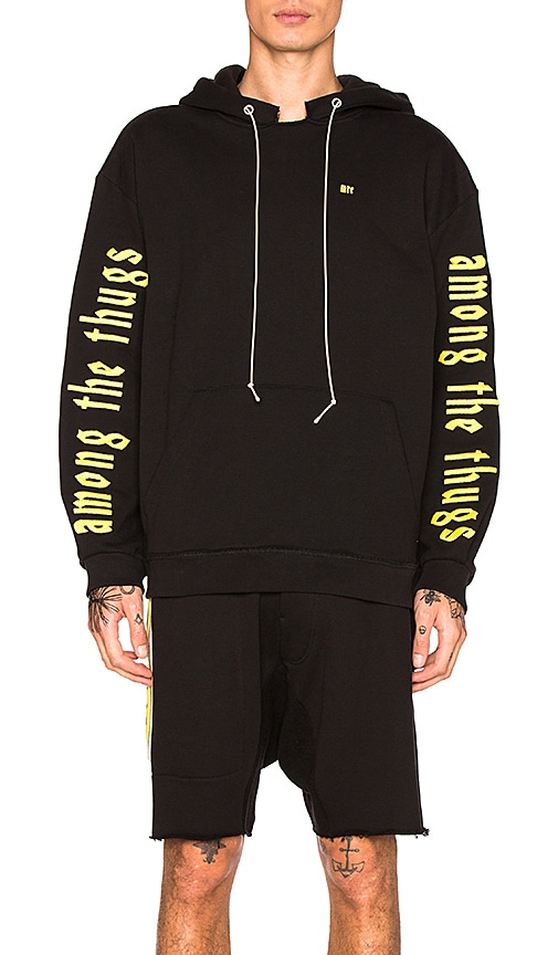 Mr. Completely Factory Hoodie in Black