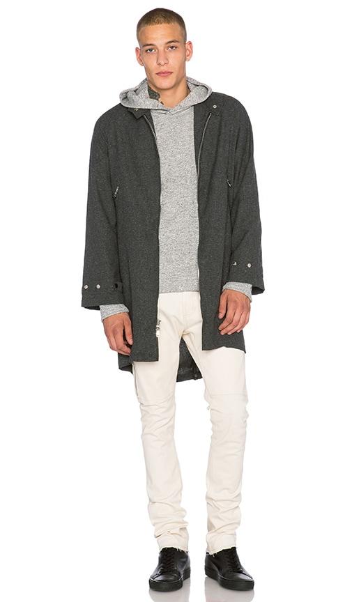 Mr. Completely Barracuda Wool Jacket in Grey