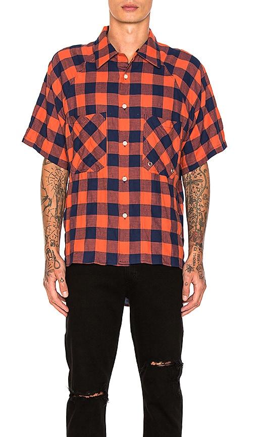 Mr. Completely Raglan Short Sleeve in Orange
