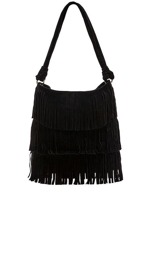 Hudson Fringe Shoulder Bag