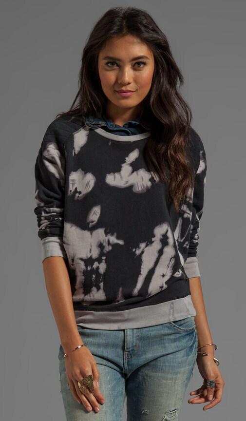 Moto Tie Dye Sweatshirt