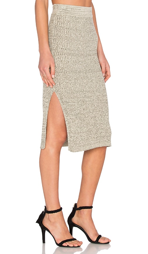 Aimee Skirt in Gray. - size L (also in M,S,XS) Heartloom